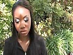 Gorgeous ebony lady sucks white dicks and gangbang fucking 28