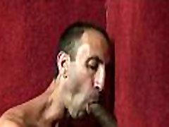 Gay hardcore gloryhole sex porn and nasty gay handjobs 28