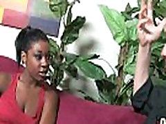 Gorgeous ebony lady sucks white dicks and gangbang fucking 19