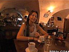 Czech in public porn