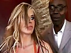 Mature lady gags and gets banged by a black cock 21