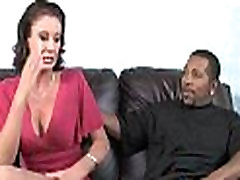 Mature MILF takes on big black cock 28