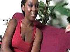 Gorgeous ebony lady sucks white dicks and gangbang fucking 10