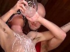 Gay video Kieron Knight likes to suck the super-steamy jizz load
