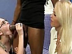 Busty Mom Fucks and Sucks a Huge Black Monster Cock 6