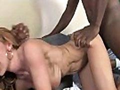 Chocolate cock fucks mature pussy hard 18