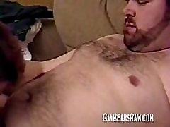 Group of horny amateur gay bears