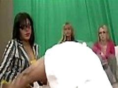 Cfnm amateur femdoms fuck and cumshot