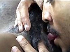 black hairy