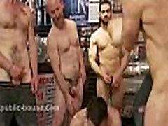 Strong gay hunks tricking boy to fuck in extreme bdsm gang bang sex video