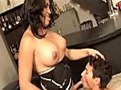 latin American shemale does oral to male
