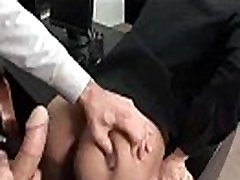 Office Cock - Gay guys fucked in the office clip-11