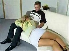 watching TV crossed legs
