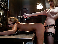 Incredible big tits, anal sex movie with horny pornstars Mellanie Monroe and Maitresse Madeline Marlowe from Whippedass