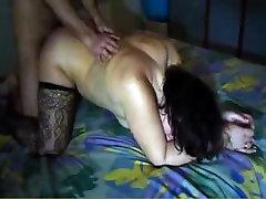 Mature slut fucks with her French boyfriend on porn vid