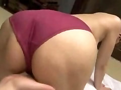 Big butt Japanese slut nailed and creampied