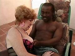 Aged Granny Sucks and Bonks a BBC