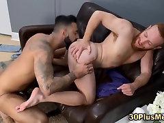 Gay bear ass fucked cum