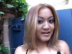 Fat white cock fuckin Asian pussy like its going out of style.