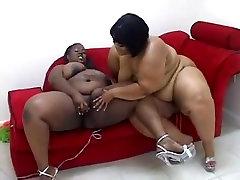 Fine Black BBW Lesbians Strapon