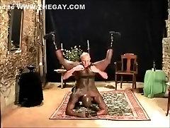 White Master and his Black fetish Slut