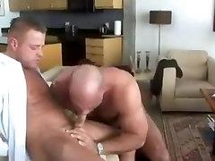 Gay bear sex after work