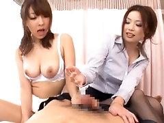 An Mashiro and Risa Kasumi are hot Asian teachers