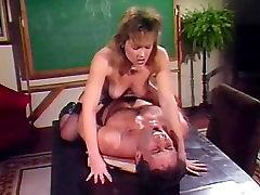 Taija Rae, John Leslie in classic 80s porn video with John Leslie