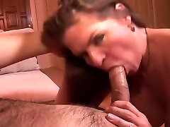 Naughty milf gets fucked and takes a sticky load in her pussy