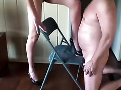Overbearing wife cock crushing and ballbusting With behind the scenes