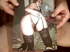 Tribute for - facial cum on pussy and ass