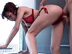 Incredible Japanese chick Kurea Hasumi in Fabulous JAV censored Bathroom, Handjobs movie