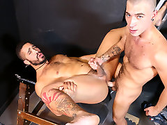 Trey Turner & Alex Greene in Cant Host, Where Can We Fuck?! Video - MenOver30