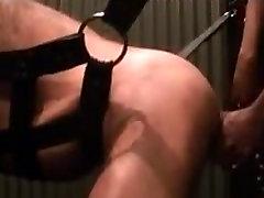 Muscle daddy bareback fucked