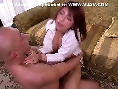 Exotic Japanese model Nami Hoshino in Hottest threesomes, bdsm JAV scene