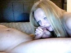 Hot Granny Blonde Hairjob and Cum in Hair, Long Hair, Hair