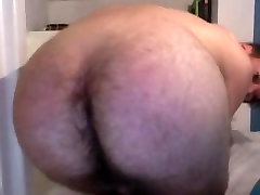 French Cute Boy With Big Hairy Ass On Doggie,Nice Cock