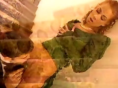 Teen bitch gets facial in this vintage Italian porn