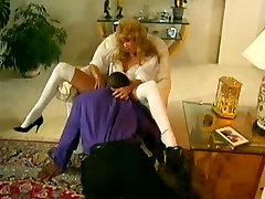 Blonde gets her pussy licked and fucked in vintage porn