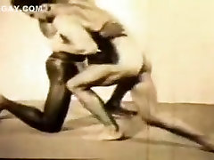 Fabulous male in horny sports, vintage homosexual sex movie