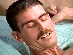 Amazing male in fabulous bareback, vintage homo sex movie