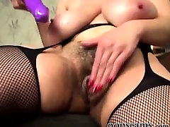posh mother with hairy pussy and big tits by oopscams