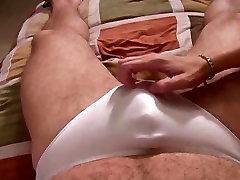 Handjob in panties
