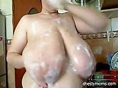 38KK Gigantic Tits In Foam