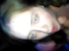 BBW slut gets well deserved facial