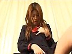 Blindfolded schoolgirl love tunnel tease