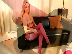 Pink nylon and pantyhose is my fuck life