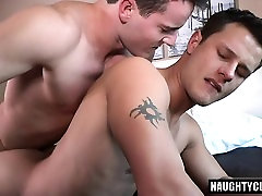 Tattoo gay oral sex and facial