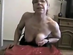 Crazy Amateur movie with Stockings, Close-up scenes