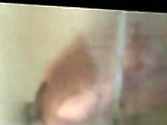 Hidden cam of chubby wife in the shower